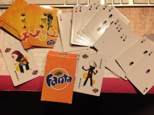 Play cards Fanta
