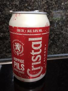New can CRISTAL BEER 2017