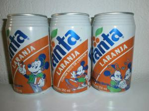 Fanta Can disney Brazil