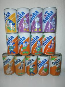 Fanta cans South Africa Disney