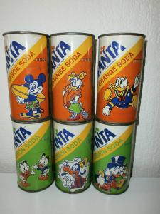 New Zealand old Fanta set